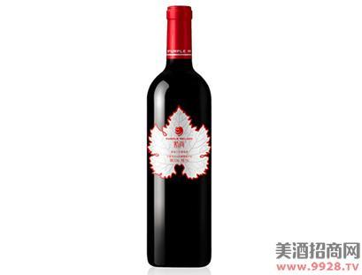 紫尚葡叶精品干红葡萄酒