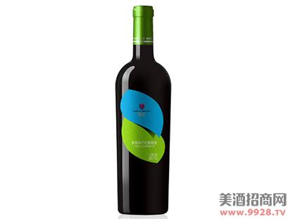 紫尚生态赤霞珠干红葡萄酒