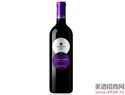 紫尚沙地卡本尼特干红葡萄酒