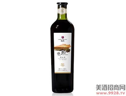 紫尚色影黑比诺干红葡萄酒