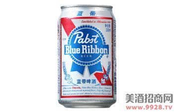 蓝带啤酒普啤