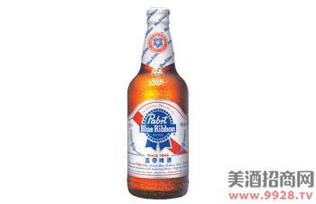蓝带啤酒清爽