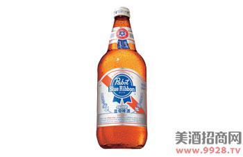 蓝带啤酒银质