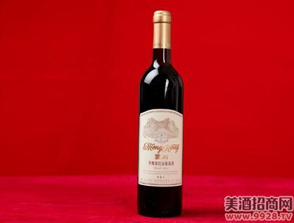 蒙鸿特酿甜红山葡萄酒