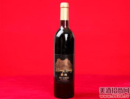 蒙鸿洞藏干红山葡萄酒