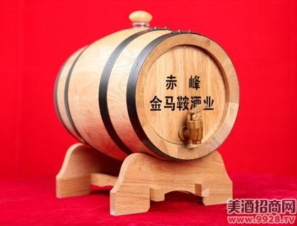 蒙鸿5L橡木桶装山葡萄酒