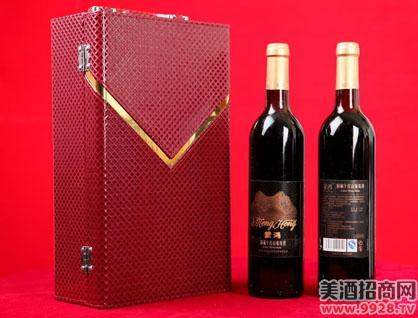蒙鸿葡萄酒礼盒装