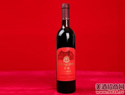 蒙鸿野生山葡萄酒(甜红)