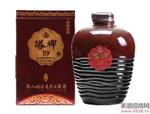 塔牌黄酒十年原酿绍兴酒4.18Lx2
