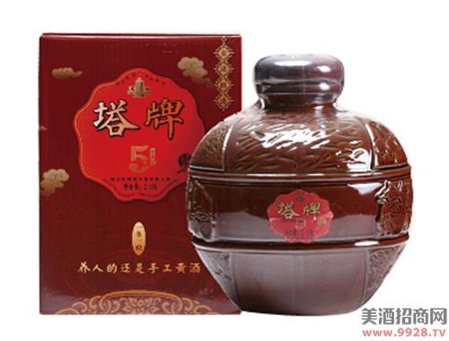 塔牌黄酒五年原酿酒2.18Lx1