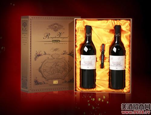 容辰庄园珍藏干红葡萄酒礼盒750ml