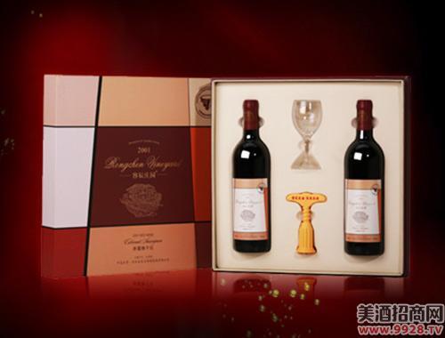 容辰庄园庄园干红葡萄酒礼盒750ml