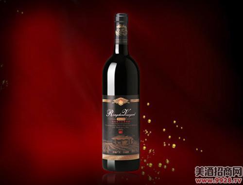 容辰庄园珍藏赤霞珠干红葡萄酒2001-750ml