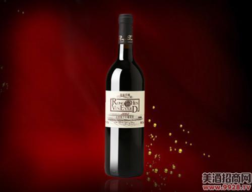容辰庄园珍藏赤霞珠干红葡萄酒2003-750ml
