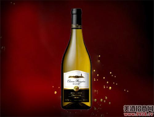 容辰庄园霞多丽干白葡萄酒2009-750ml