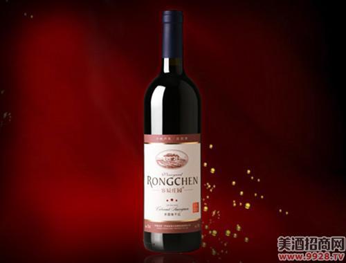 容辰庄园三星干红葡萄酒750ml