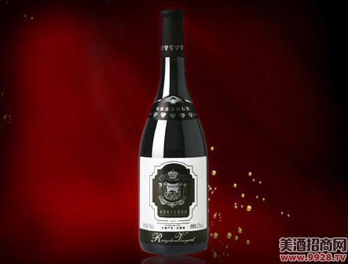 容辰庄园钻石赤霞珠干红葡萄酒(2001)750ml