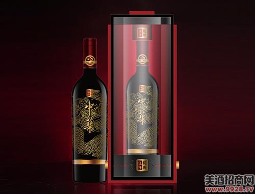 中华牌龙御伍仟葡萄酒