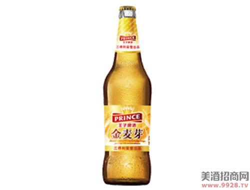 王子啤酒金麦芽