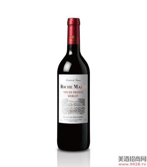 玛茜精典美乐红葡萄酒