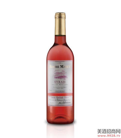 玛茜西拉桃红葡萄酒