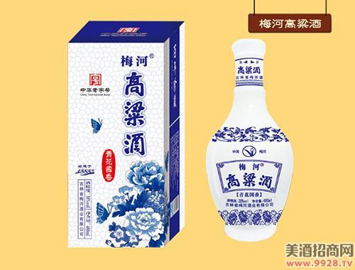 梅河高粱酒-青花