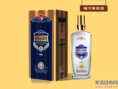 梅河国标高粱酒银标