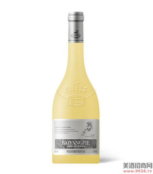 白洋河金版橡木桶干白葡萄酒