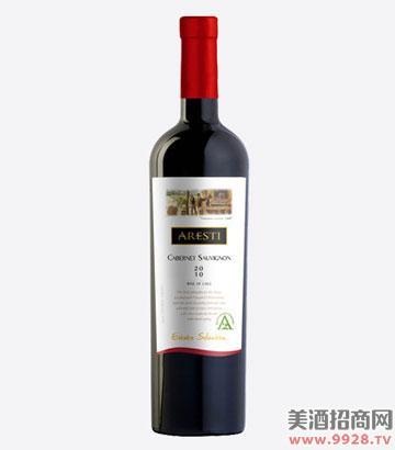 阿雷斯帝特选赤霞珠干红葡萄酒