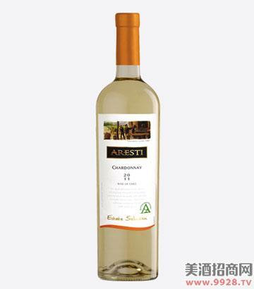 阿雷斯帝特选莎当妮干白葡萄酒