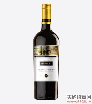 阿雷斯帝珍藏赤霞珠干红葡萄酒(布鲁塞尔银奖)