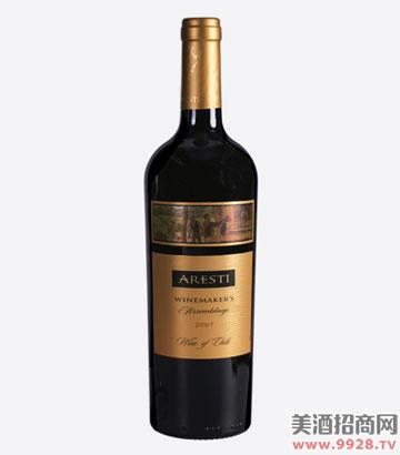 阿雷斯帝大师赤霞珠干红葡萄酒
