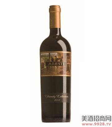 阿雷斯帝家族珍藏干红葡萄酒