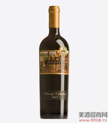 阿雷斯帝家族珍藏干红葡萄酒(布鲁塞尔金奖)