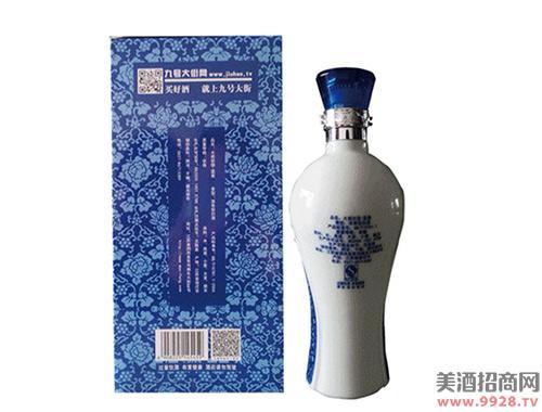 大瓷坊酒蓝瓷