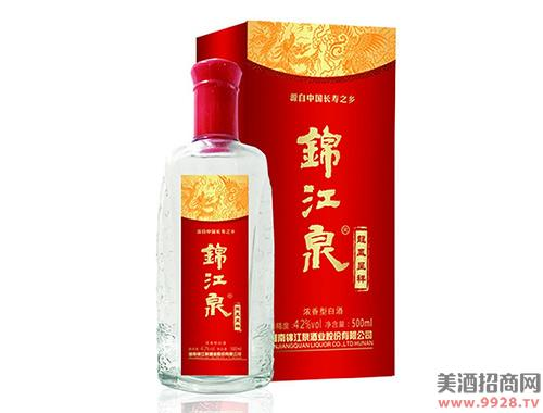 锦江泉酒龙凤呈祥42度500ml浓香型白酒