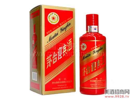 茅台迎宾酒(中国红)53度500ml