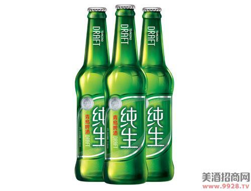 青岛啤酒纯生8度316mlx24