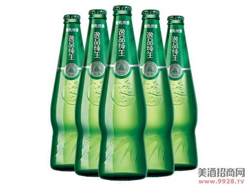 青岛啤酒逸品纯生9度218mlx24瓶