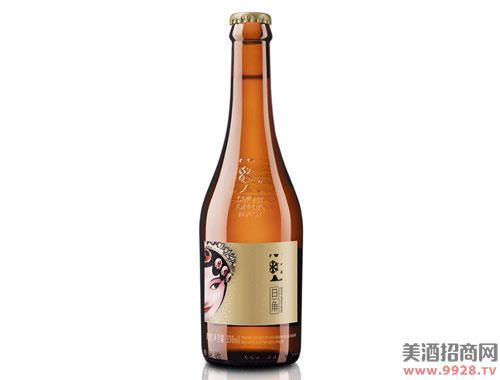 雪花啤酒花脸啤酒旦角8度330mlx12瓶