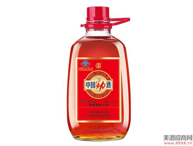中国劲酒35度2.5L家庭装