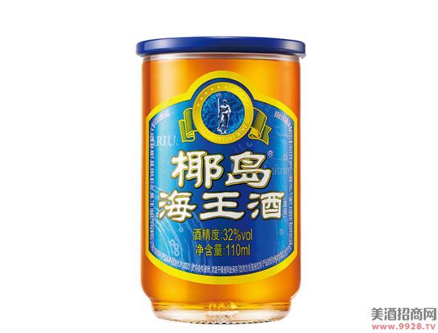 椰岛海王酒110mlx4杯配制酒