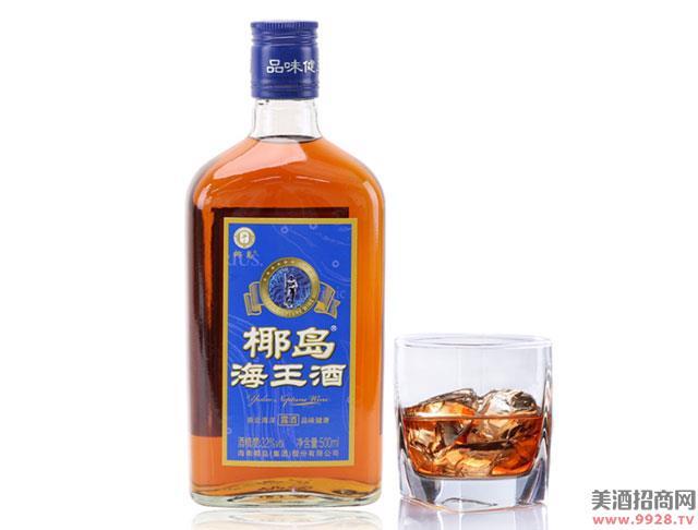 椰岛海王酒500mlx3瓶