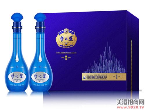 洋河蓝色经典梦之蓝M6 52度500MLX2瓶