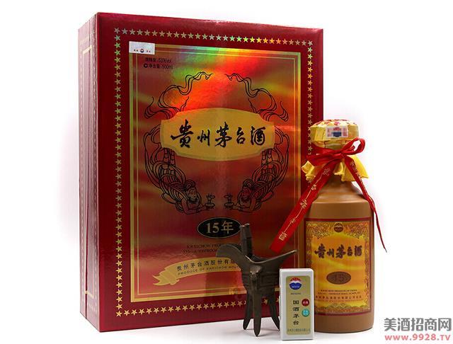 茅台酒15年(礼盒装)