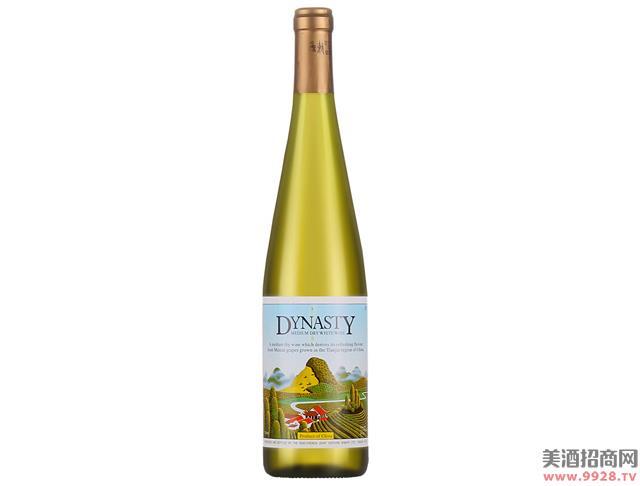 王朝经典半干白葡萄酒