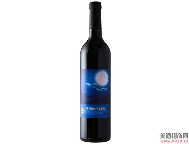 威龙月如心干红葡萄酒