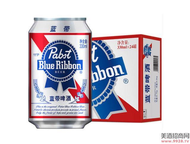蓝带啤酒经典11度330mlx24
