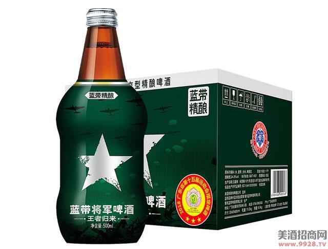 蓝带啤酒将 军500mlx12