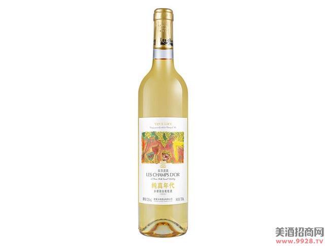 乡都有机甜白葡萄酒